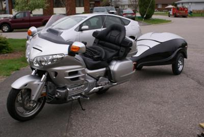 2008 Honda Goldwing and 2010 Gypsy Trailer Scarab Series