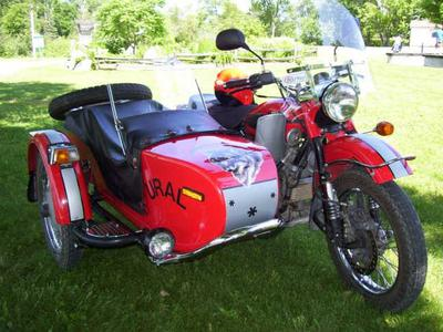 Ural 750 with sidecar