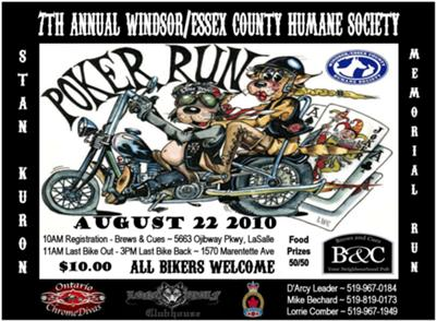 7th Annual WECHS Poker Run