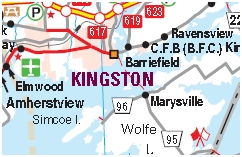 Kingston Motorcycle Map
