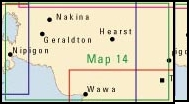 Map 14 Northern Ontario