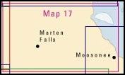 Map 17 Northern Ontario