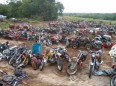 Motorcycle Salvage Yard