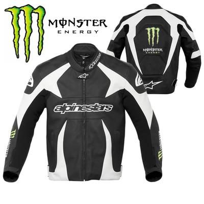 Alpine Stars Monster Energy Leather Jacket