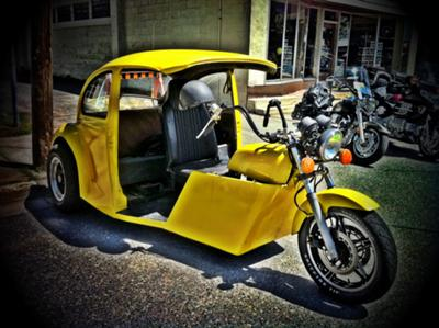 Volkswagen Bug Motorcycle