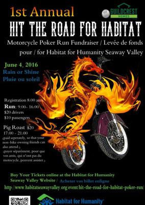 Hit the road for habitat