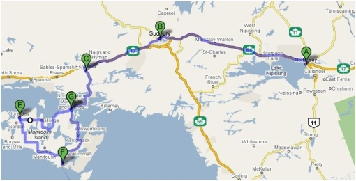 Motorcycle Ride Around Manitoulin Island With Absorb