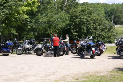 Magnetawan Motorcycle Parking