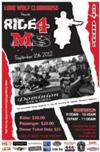 4th Annual Ride for MS event flyer