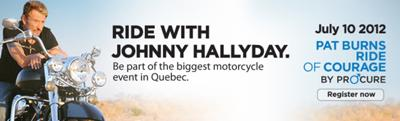 Ride with Johnny Hallyday